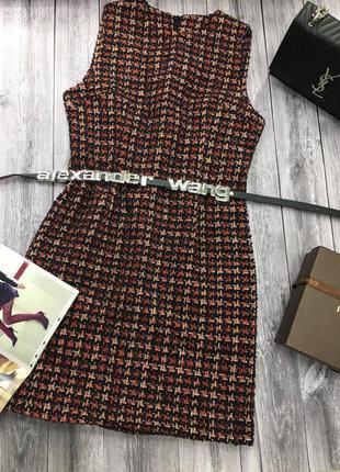 Твидовое платье (качество люкс)