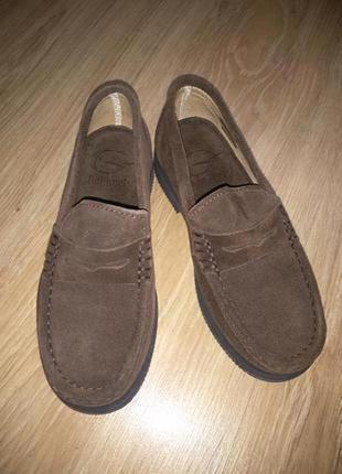 Galucci фирменные замшевые туфли
