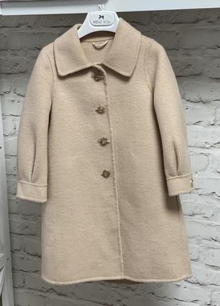 Пальто тёплое 98-110