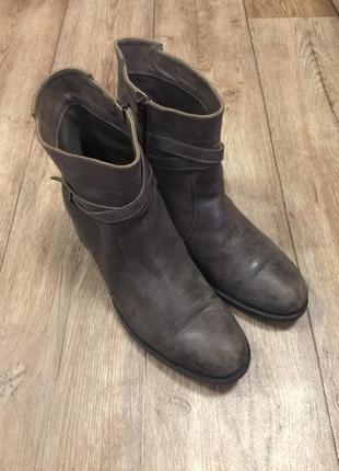 Vero cuoio. кожаные ботинки, италия, нат кожа.40 р