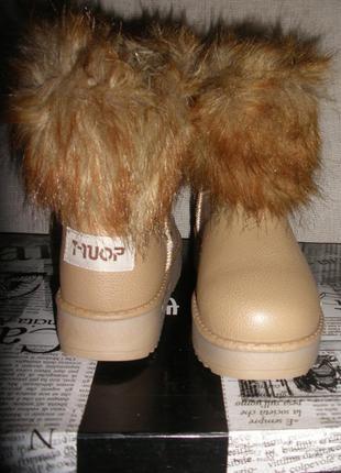 Новые теплые зимние сапоги полусапоги ботинки угги t-ou
