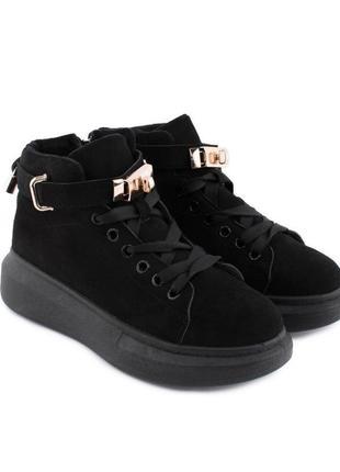 Женские демисезонные стильные осенние ботинки / жіночі демісезонні стильні черевики