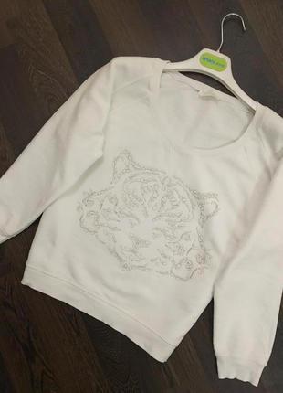 Стильный свитшот реглан  свитер  zara
