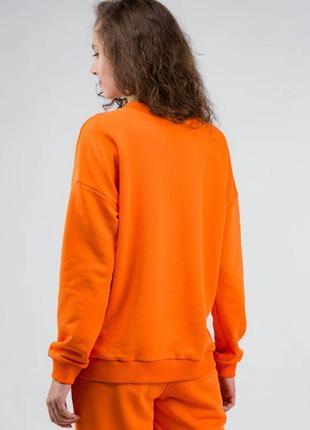 Яркий оранжевый 🍊 свитшот