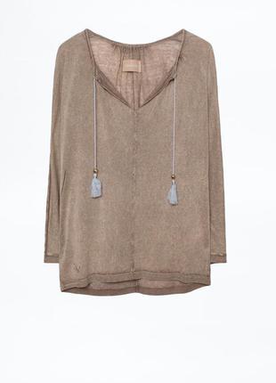 Блуза кофта zadig & voltaire