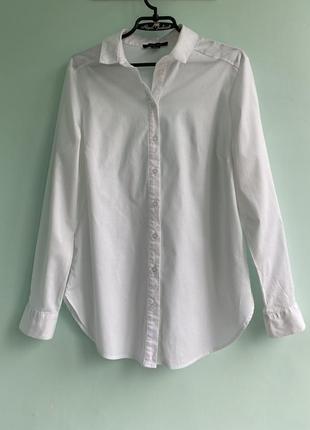 Рубашка базовая хлопковая с завязками на спине atmosphere