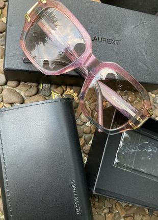 Очки, очкі, окуляри yeve saint laurent