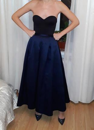 Роскошная вечерняя юбка