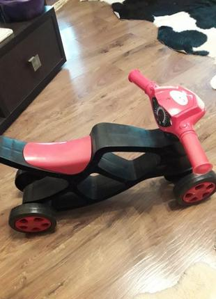 Первый детский велосипед беговол doloni