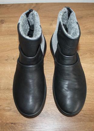 Шкіряні черевики ecco ukiuk, 38 розмір