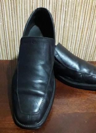 Туфли лоферы от geox размер 41 ст 27см