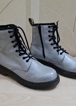 Ботинки dr. martens 1460 glitter оригинал размер 37