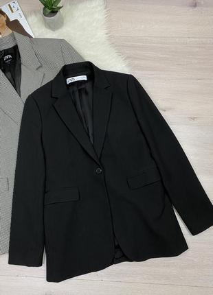 Крутой базовый пиджак блейзер zara с новых моделей