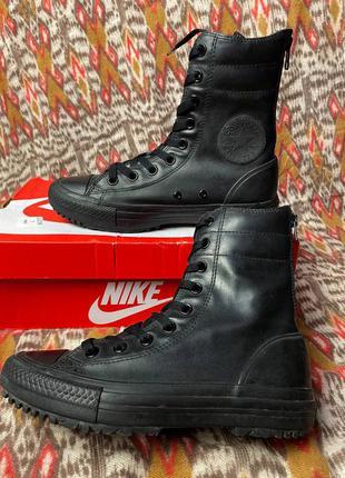 Женские высокие кеды converse chuck taylor high rise boot