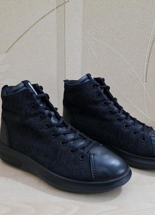 Демисезонные ботинки ecco soft 3 оригинал размер 39