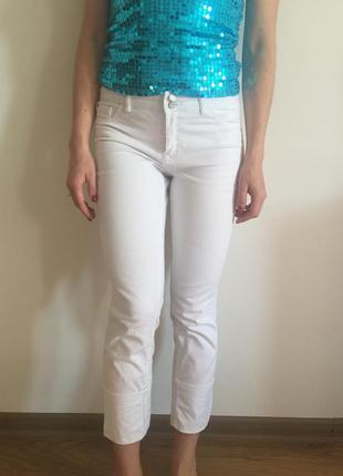 Капри белые штаны