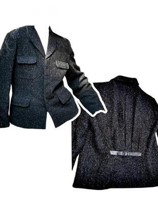 Шерстяной пиджак жакет together блейзер с накладными карманами
