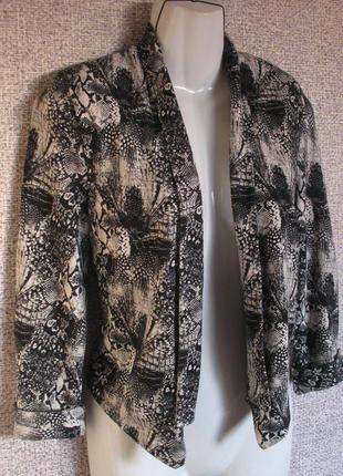 "Мягкий, комфортный пиджак/ накидка. бренд ""h&m"" р-р eur 34/ 36"