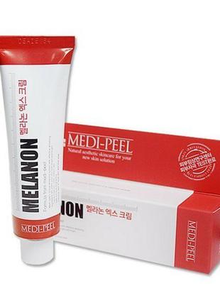 Крем осветляющий с ниацинамидом medi-peel melanon x cream 30 мл