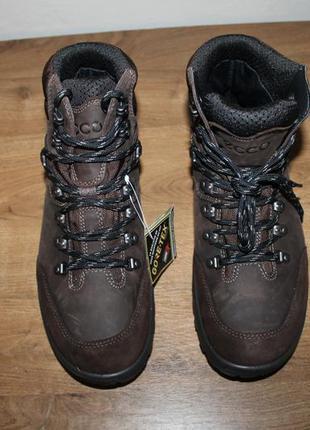 Шкіряні черевики ecco xpedition gore-tex, 43 розмір