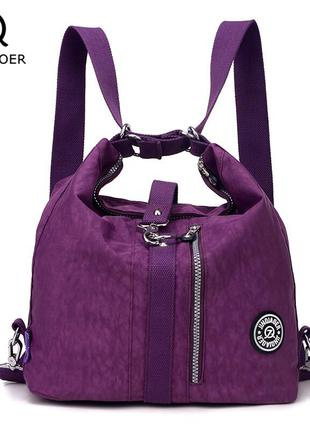 Jinqiaoer жіноча сумка - рюкзак.
