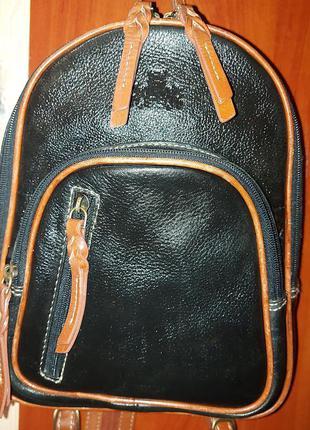 Кожанный рюкзак rowallan