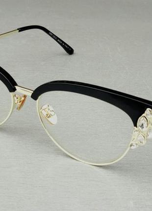 Jimmy choo очки женские имиджевые оправа для очков инкрустированные камнями