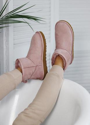 Угги сапоги ugg mini pink
