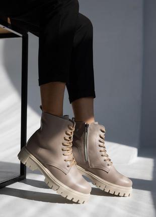 Женские ботинки осень-байка