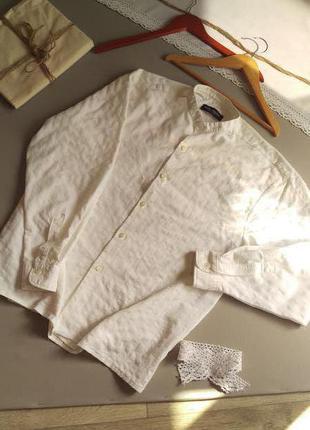 Шикарная рубашка с фактурой с длинным рукавом xl xxl 3хl