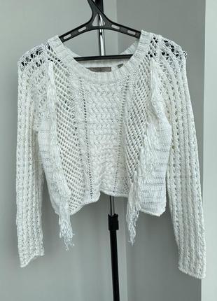 Guess свитер с бахромой кофта оригинал