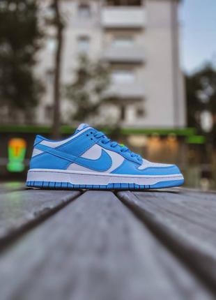 Женские синие кроссовки nike sb dunk low низкие найк данк
