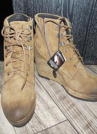 Geox замшевые ботинки р. 37 - 24см