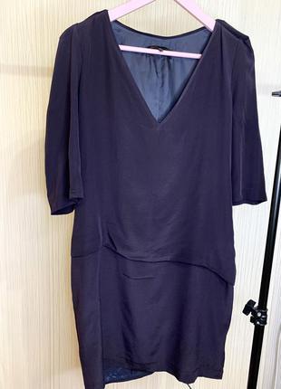 Шёлковое платье maje