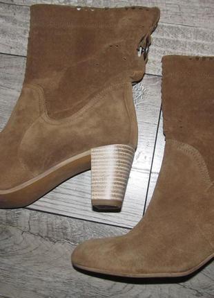 Замшевые деми ботинки lavorazione artigiana р. 39 -25см