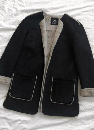 Куртка пальто дублёнка дубльонка atmosphere
