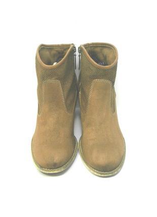 Женские рыжие ботинки s. oliver р. 40