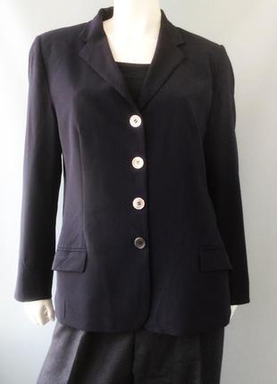 Классический  пиджак бренда piazza sempione, италия
