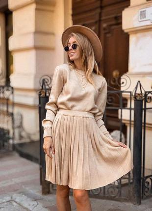 Костюм:юбка+свитерок