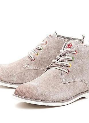 Замшевые ботинки marco tozzi р. 39 - 25см