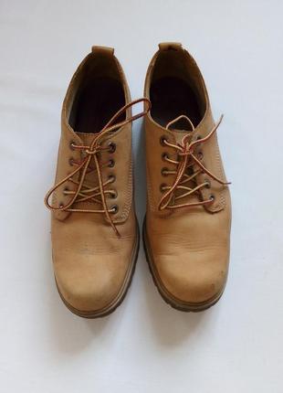 Легендарные timberland кожаные туфли оксфорды низкие ботинки