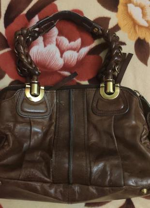 Шикарная брендовая сумка chloe