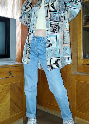Винтажная блуза рубашка оверсайз винтаж ретро accanto