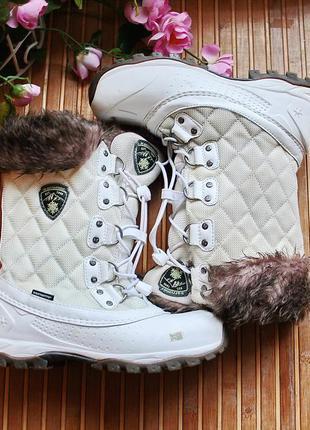 Белые зимние мембранные сапоги karrimor thinsulate 36-37р стелька 23см.