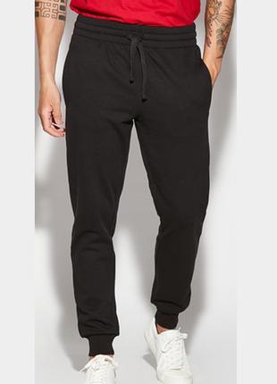 Тёплые спортивные штаны мужские джоггеры с начёсом м tezenis