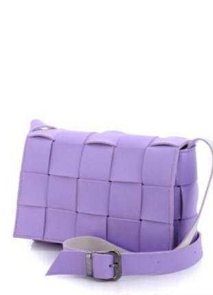 Сумка клатч женская фиолетовая сиреневая 230 грн