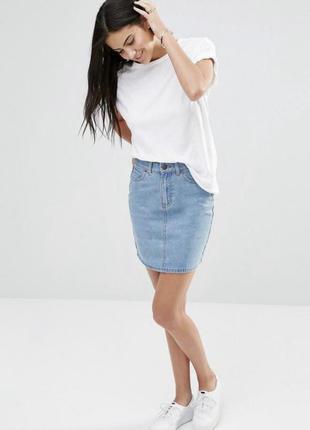 ❗️базовая джинсовая юбка