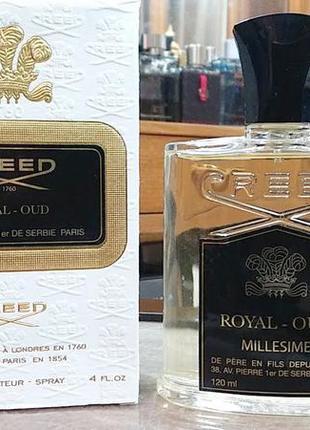 Creed royal oud 2 мл оригинал затест распив и отливанты аромата