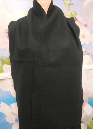 Кашемировый пушистый шарф  шотландия