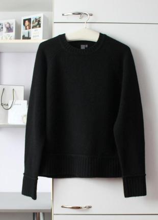 Шерстяной теплый свитер от дорогого бренда sweaty betty, 100% шерсть